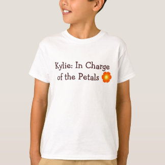 flower, Kylie: In Charge  of the Petals T-Shirt