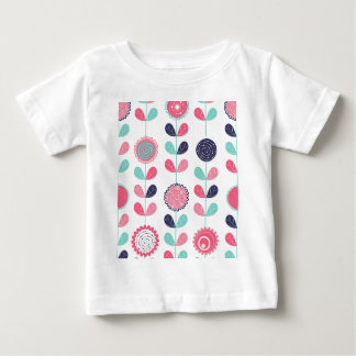 Flower leafs baby T-Shirt