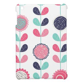 Flower leafs iPad mini case