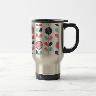 Flower leafs mug
