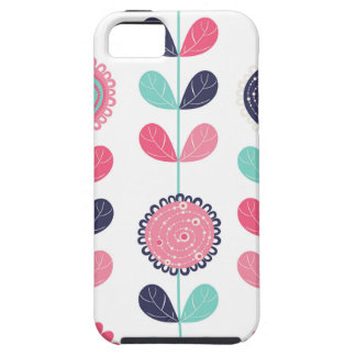 Flower leafs tough iPhone 5 case