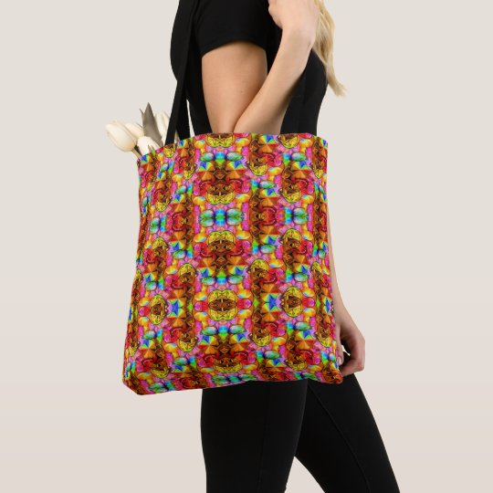 Flower Life Tote Bag