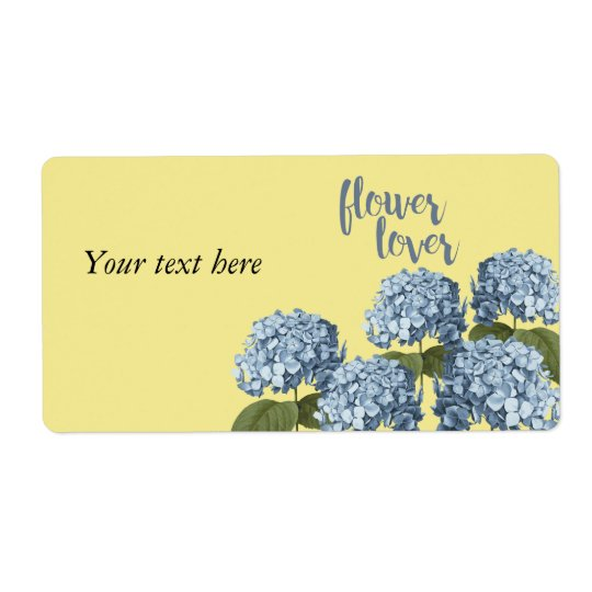 Flower lover floral Label Shipping Label