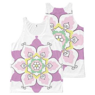 Flower Mandala All-Over Print Tank Top