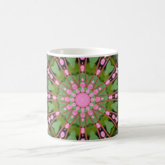 Flower Mandala, Bleeding heart 002.2 Coffee Mug