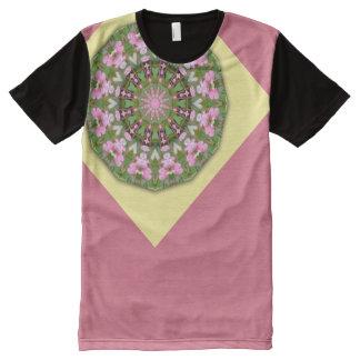Flower Mandala, Bleeding heart 02.4 All-Over Print T-Shirt