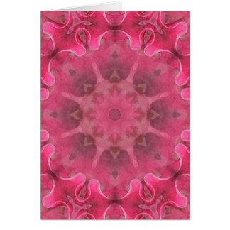 Flower Mandala Card