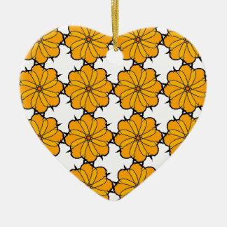 Flower mandala christmas ornament