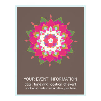 Flower Mandala  Flyer