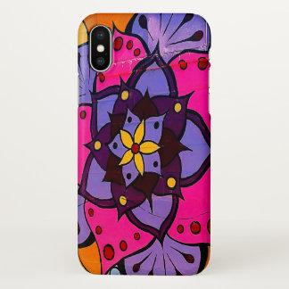 Flower Mandala iPhone X Case