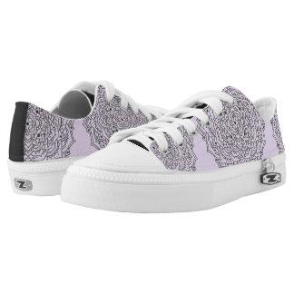 Flower Mandala Low Top Shoes