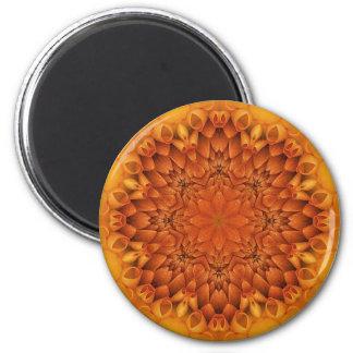 Flower mandala magnet