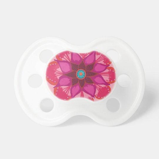 Flower Mandala months BooginHead® Pacifier