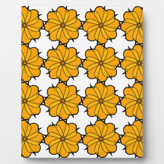 Flower mandala plaque
