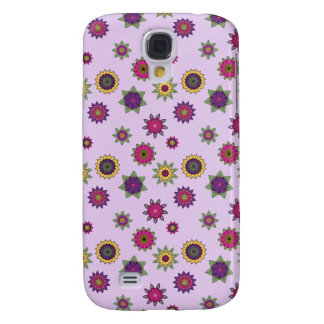 Flower Mandala Purple Phone Case Samsung Galaxy S4