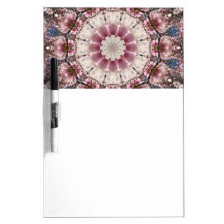 Flower Mandala, springtime glory Dry-Erase Whiteboards