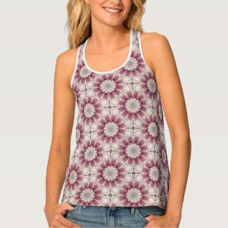Flower-Mandala, springtime glory Tank Top