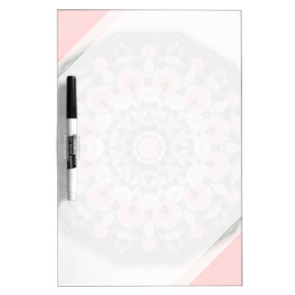 Flower Mandala, Tulips Dry-Erase Boards