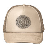 Flower mandala w/ seed of life cap