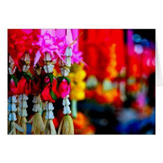 Flower Market, Chiang Mai Card
