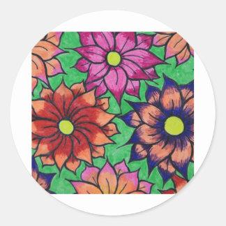flower mass sticker