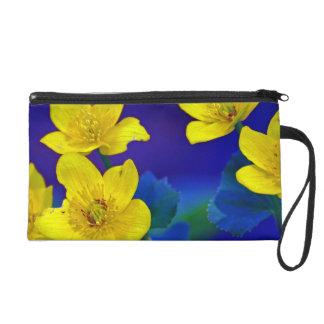 Flower mf 518 wristlet purses