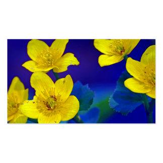 Flower mf 518 business card templates