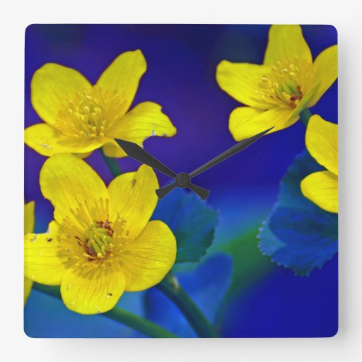 Flower mf 518 wall clocks
