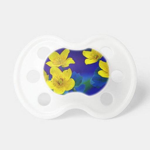 Flower mf 518 pacifiers