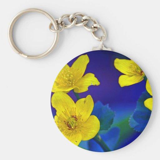 Flower mf 518 keychains