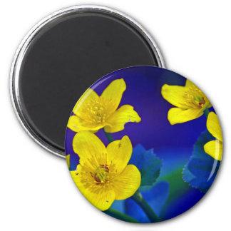 Flower mf 518 fridge magnet