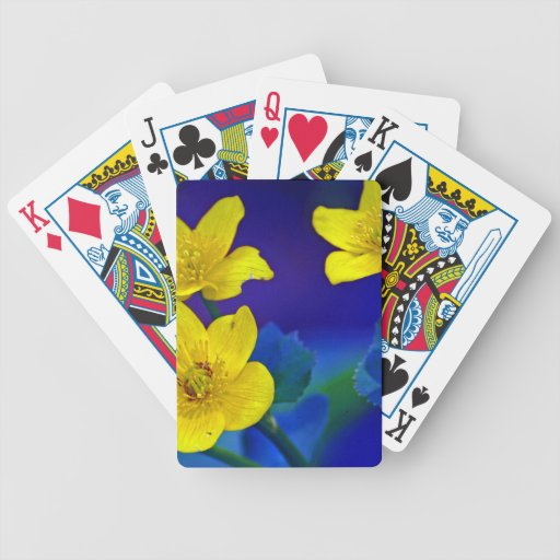 Flower mf 518 deck of cards