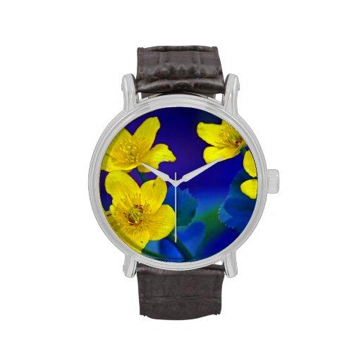 Flower mf 518 wristwatch