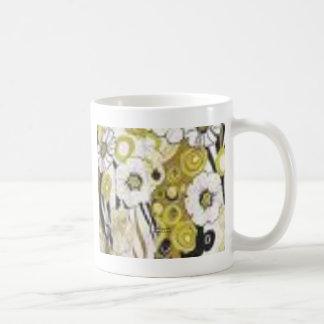 Flower Mix retro poly Mug