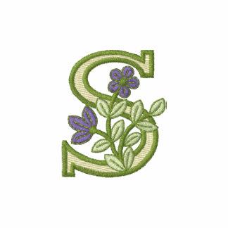 Flower Monogram Initial S
