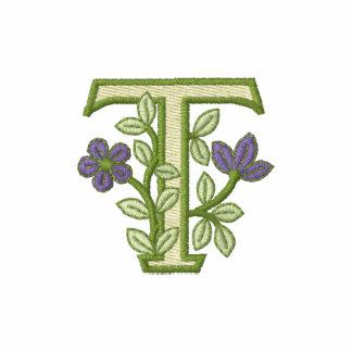 Flower Monogram Initial T
