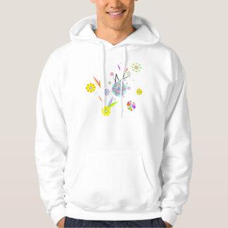 Flower monster by ilya konyukhov hoodies