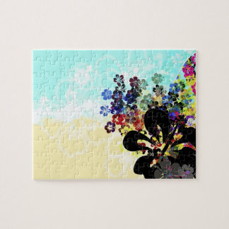 Flower Montage Jigsaw Puzzle