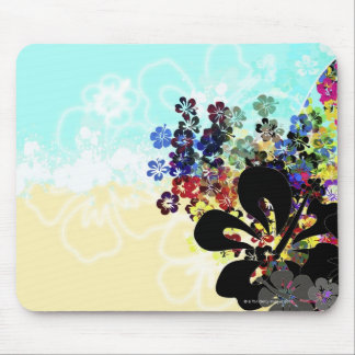 Flower Montage Mouse Pad