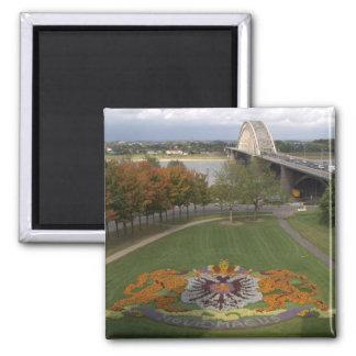 Flower mosaic, Nijmegen Square Magnet