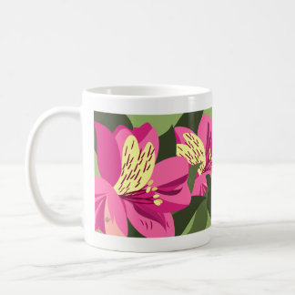 Flower Mugs - Alstroemeria