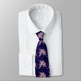 Flower of cherry tree for a necktie