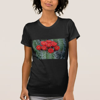Flower of claret cup cactus flowers shirts