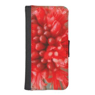 Flower Of Dwarf Boerbean, Sabi Sands iPhone SE/5/5s Wallet Case