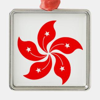 Flower of Hong Kong Christmas Ornament