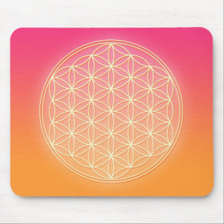 Flower of Life - Archangel Gabriel Mouse Pad