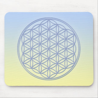 Flower of Life - Archangel Michael Mouse Pad