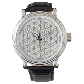 Flower of Life - BiColor Wrist Watch