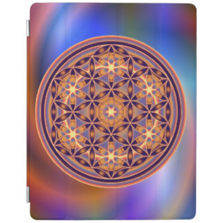Flower Of Life Blume des Lebens - Button II iPad Cover