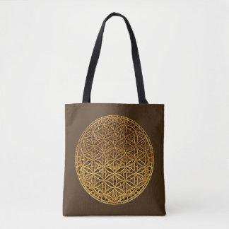 Flower Of Life / Blume des Lebens - gold medal Tote Bag